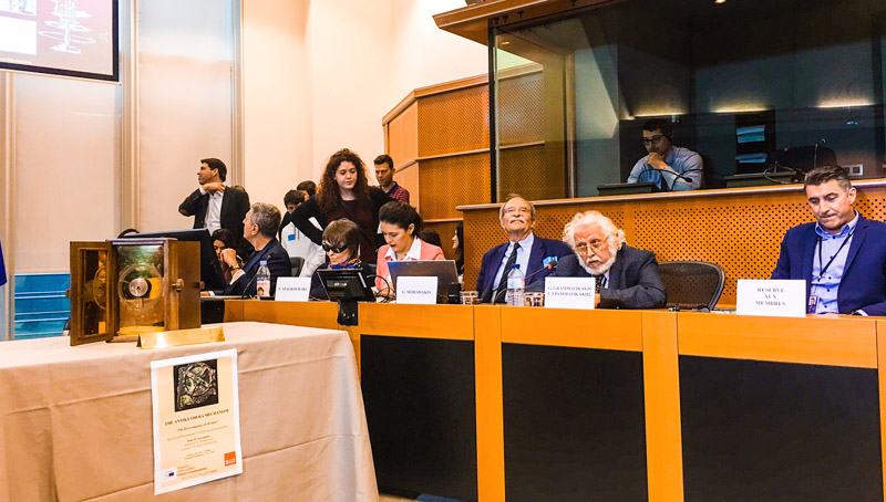 Antikythera Mechanism was presented at the European Parliament