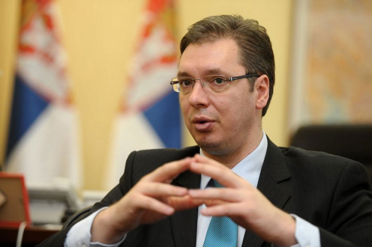 Vucic: I don't plan on going to Washington at all