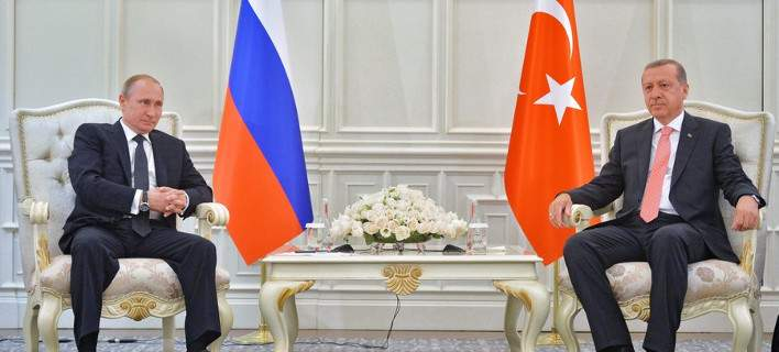 """Erdogan sends letter to Putin: """"Let us improve our countries' relations"""""""