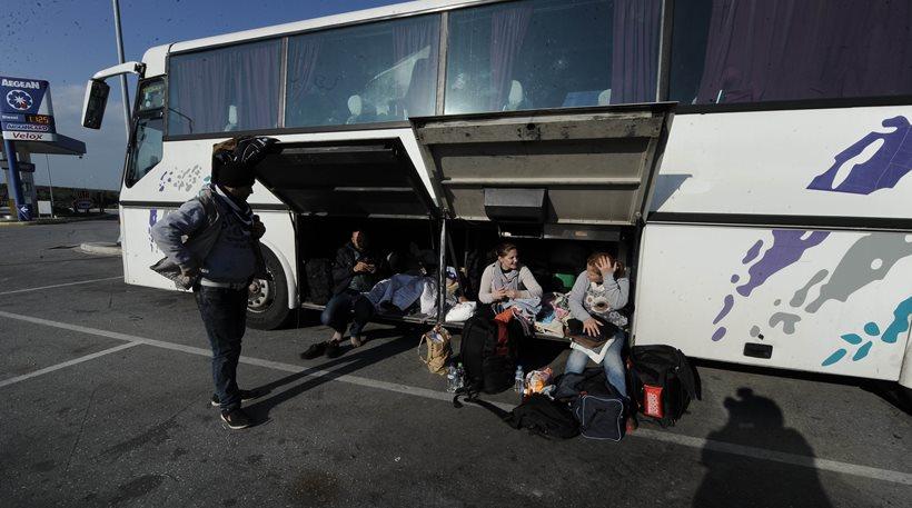 Polykastro: Evacuation of the informal settlement goes smoothly