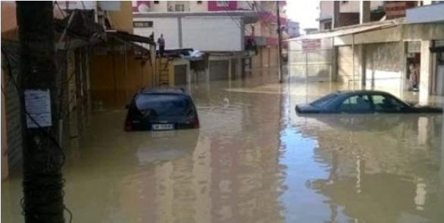 Albania is struck by heavy rainfall, floods in several cities