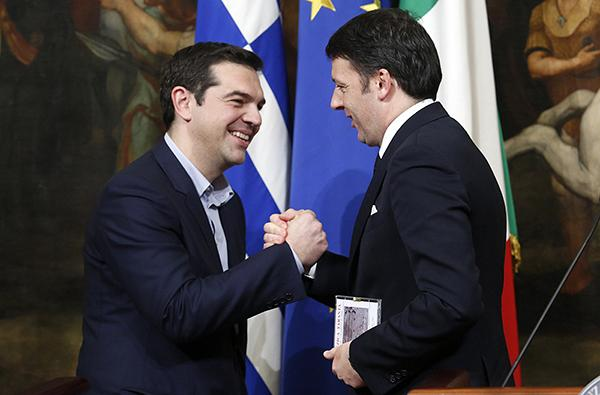 Renzi: Tsipras brought the Left wind in the EU