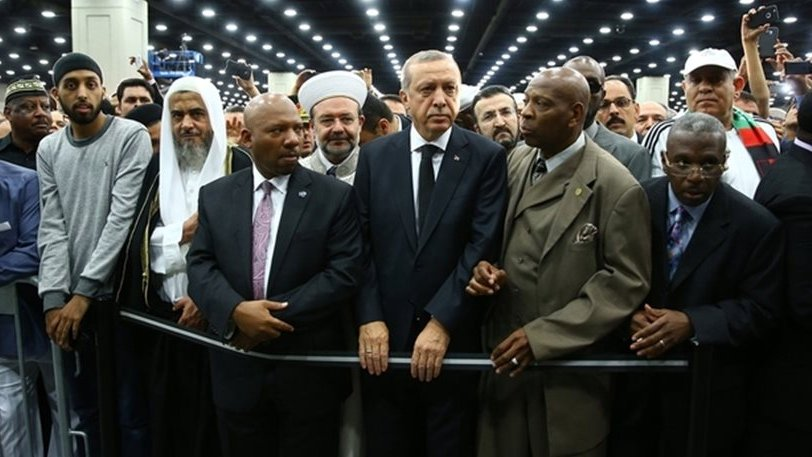 Turkish President has all his requests rejected at the funeral of Muhammad Ali