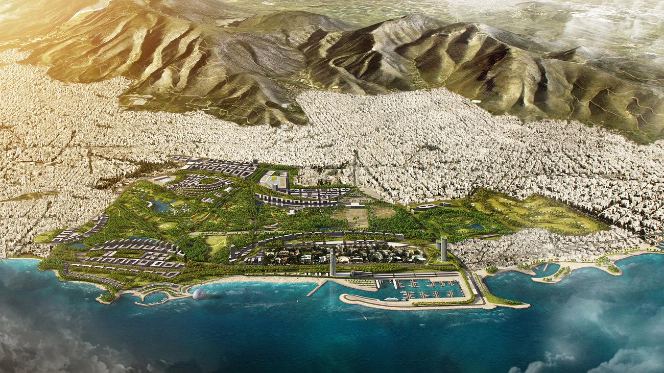 TAIPED – Lamda Development MoU signed for Elliniko