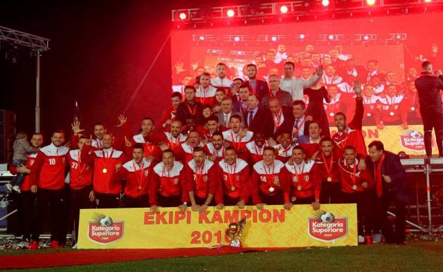 Albanian football club expelled from European Cups for a year