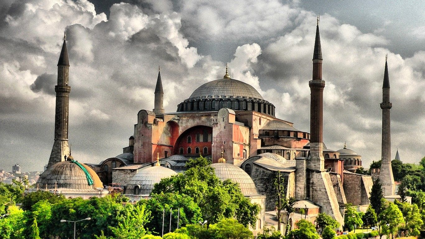 Verses from the Koran were heard in Hagia Sophia for the second time during the Ramadan