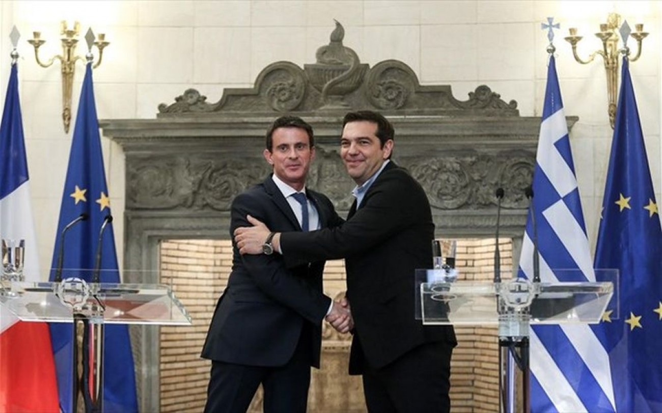 After Putin it was the turn of Manuel Valls to visit Greece