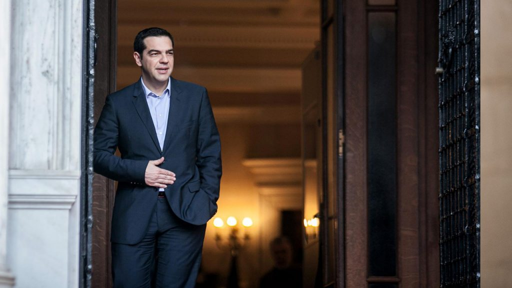 Greek premier outlines plan to rebuild shattered welfare state