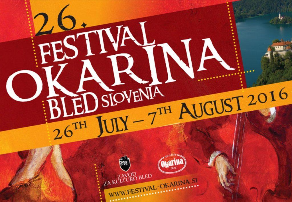 Okarina Music Festival starting tonight in Bled