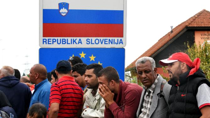 New group of refugees due in Slovenia in August