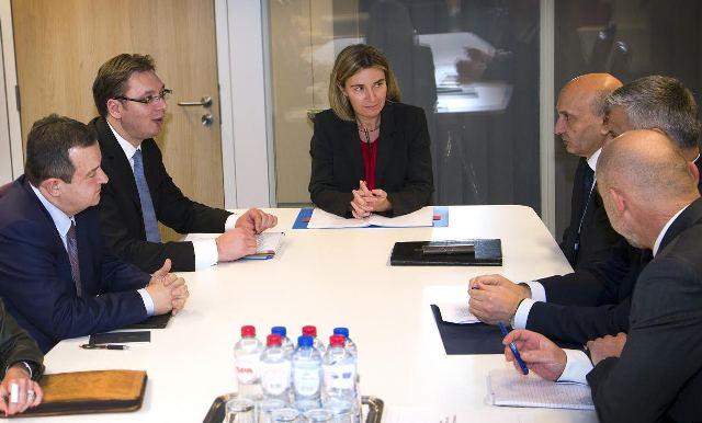 Kosovo is a condition for Serbia's EU integration