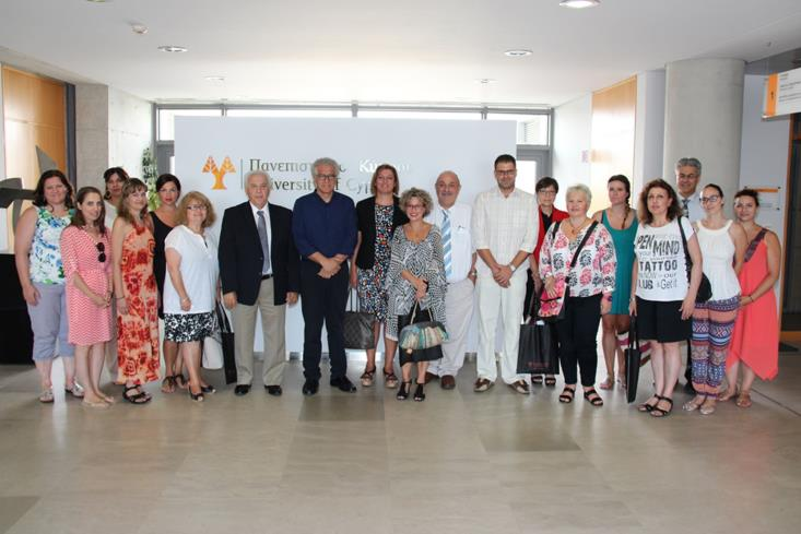 Diaspora teachers visit University of Cyprus