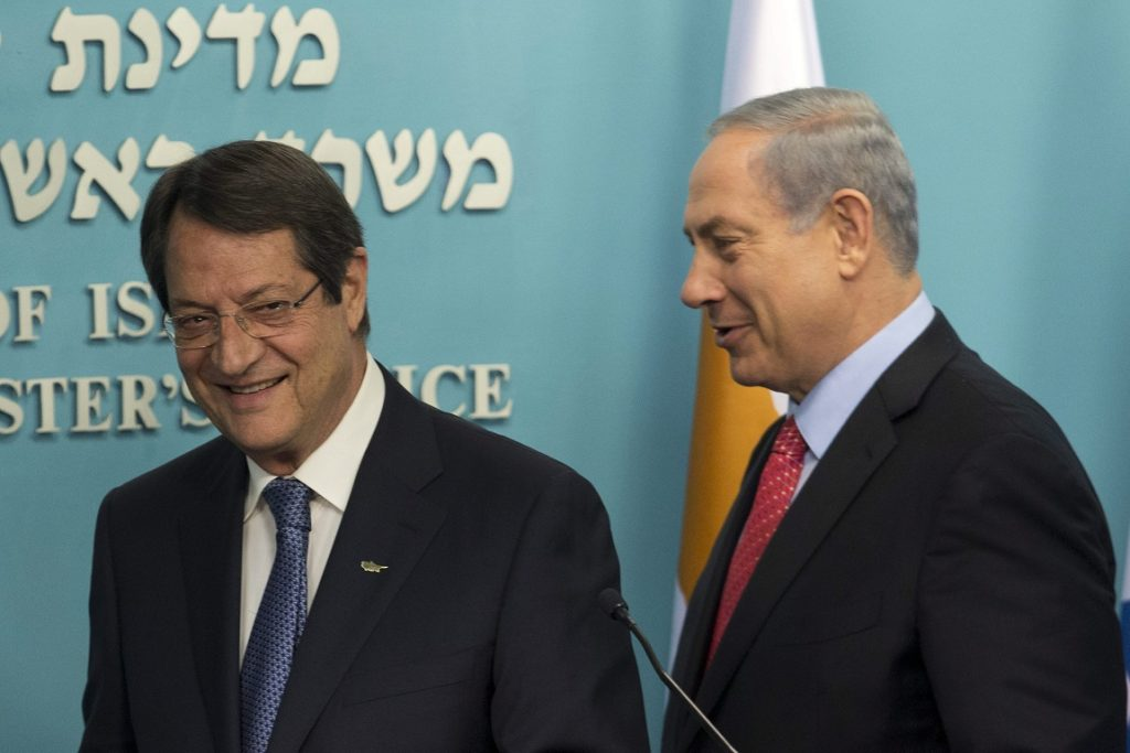 A Cyprus solution will facilitate future energy projects, Anastasiades-Netanyahu agree