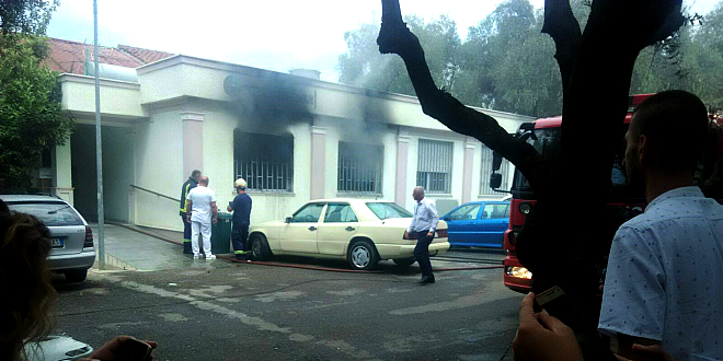 Fire at the American Hospital of Tirana, two victims at the dialysis ward