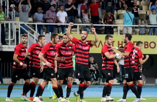 Shkendija defeats Nefchi from Azerbaijan