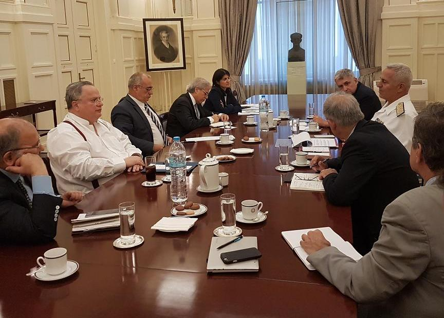 Meeting at the Foreign Ministry focuses on development in Turkey