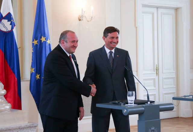 Slovenia and Georgia sign cooperation agreement