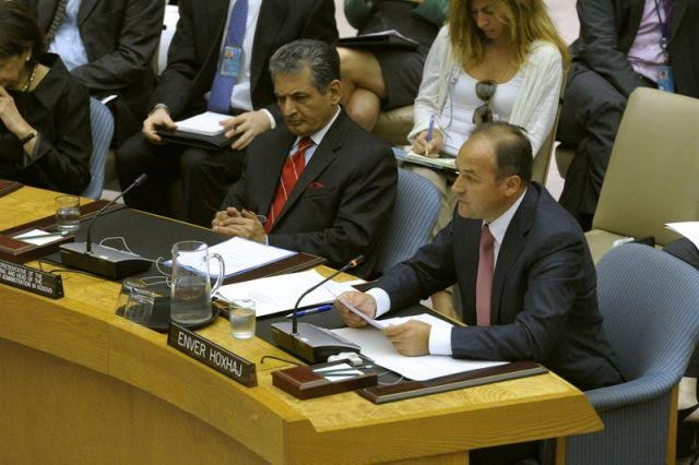 Kosovo's efforts for UN accession