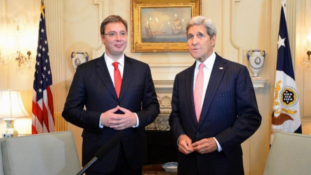 """Kerry, Johnson """"congratulate"""" Vucic new chapters with EU"""
