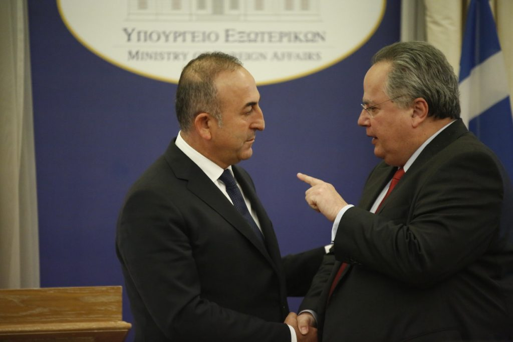 Meeting in the Foreign Ministry under Kotzias on the development in Turkey
