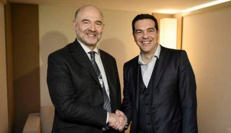 Pierre Moscovici in Athens for top level talks