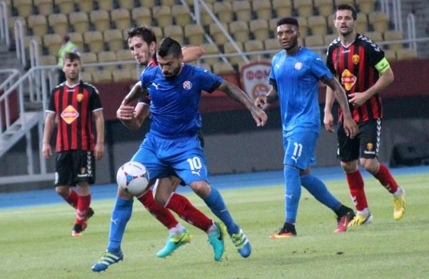 Vardar is defeated by Dinamo Zagreb