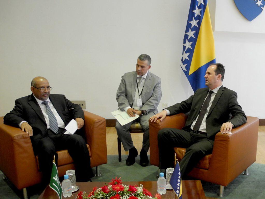 BiH receives support for battle against terrorism