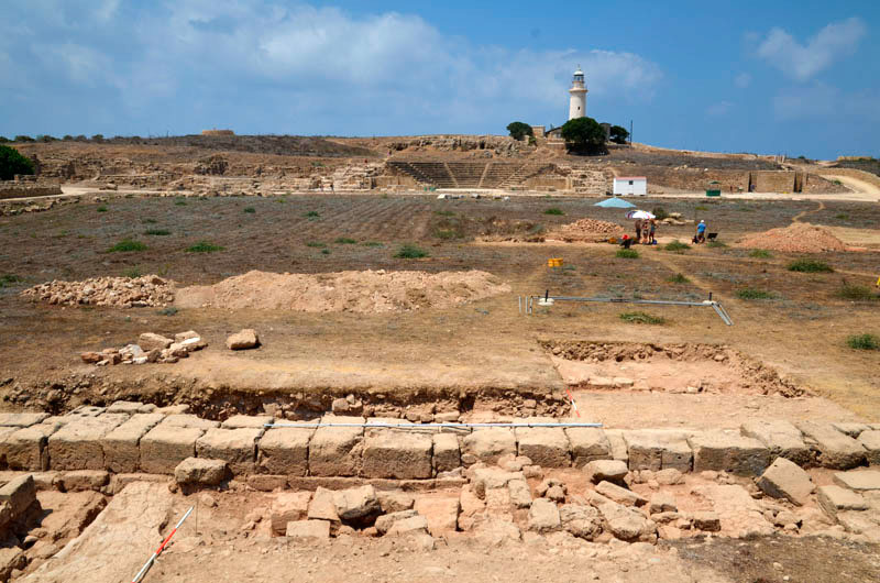 The fifth season of excavations at the site of Ayios Tychonas-Klimonas completed
