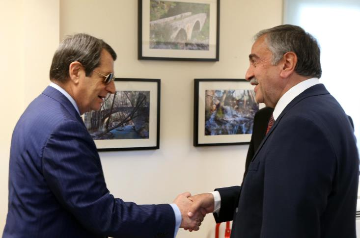 """There is """"common will"""" for peace, Anastasiades says after a meeting with Akinci"""