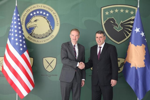USA backs the process of transformation of FSK into an army