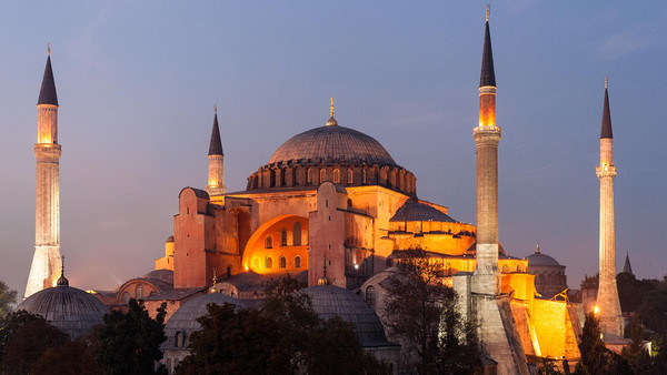 OP/ED: Hagia Sophia is still here, a monument of world cultural heritage.