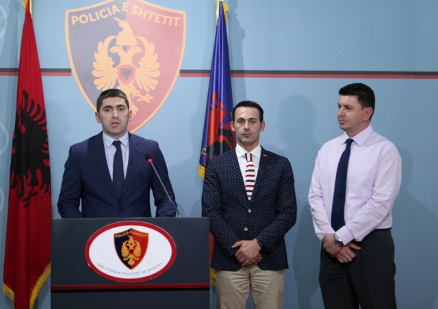 International operation against drugs discovers important drug lords in the Balkans