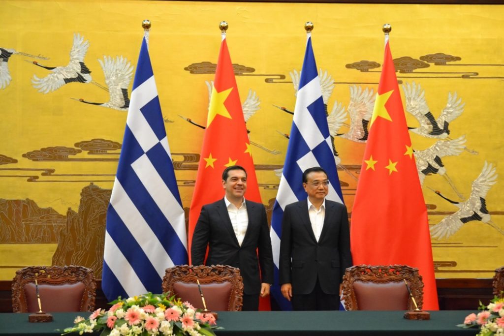 Tsipras' visit to the P.R. of China positive