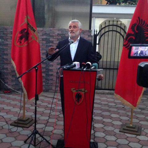 There's no solution of the crisis without a solution of ethnic issues, says leader of Albanian opposition party in FYROM
