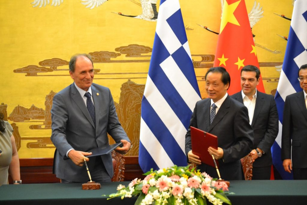 Stathakis: Great prospects by the cooperation Greece – China