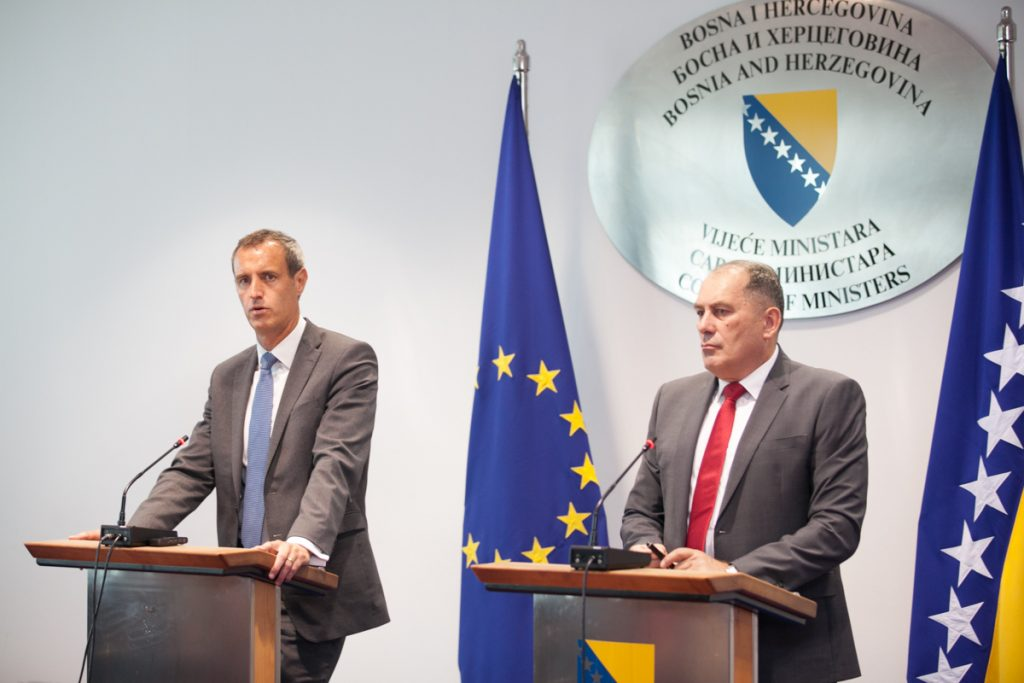 BiH Security Ministry and Europol reach agreement for better security