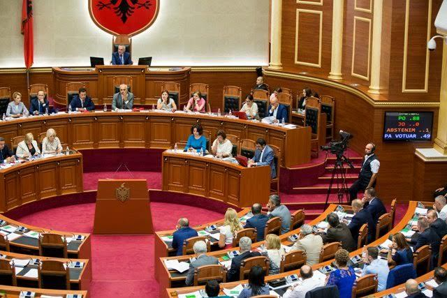 Consensus ruined, vetting approved without the votes of opposition in parliament