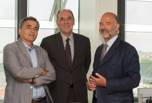 Cabinet echelon with Pierre Moscovici meering takes place in good atmosphere