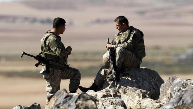 Turkey and Kurds battle in Syria