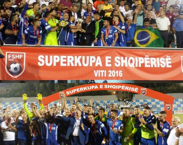 Albania's Super Cup goes to the north