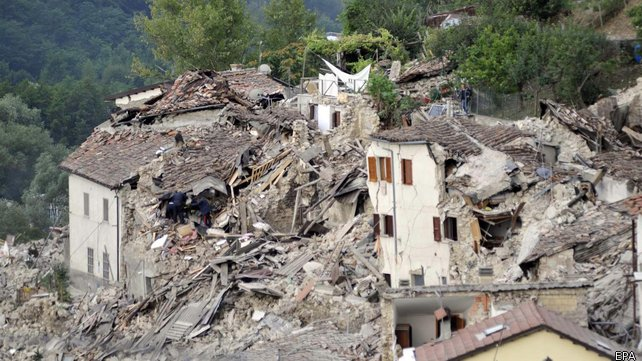 Foreign Ministry says five Romanian so far dead in Italy earthquake