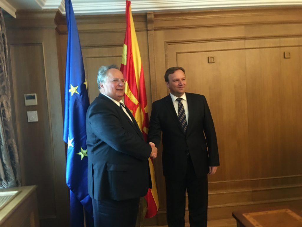 Kotzias: The MoU gave impetus to bilateral relations