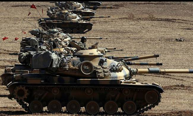 Turkish army backs op to take ISIL-held town