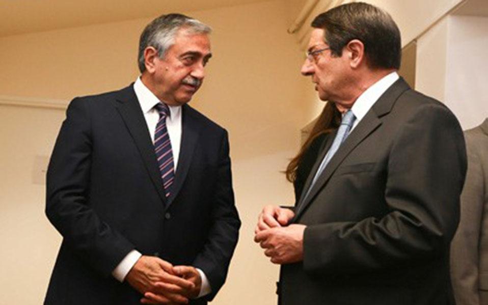 President Anastasiades and Mustafa Akinci set the agenda of the intensified talks