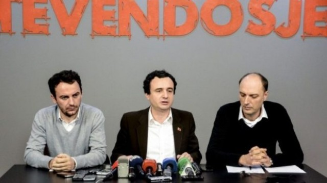 Heads of Self Determination issued with Albanian passports