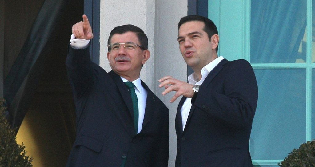 Davutoglu sends letter to European leaders, Alexis Tsipras among the first recipients