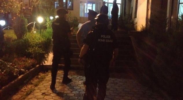 Bomb attack against Kosovo Radio Television building