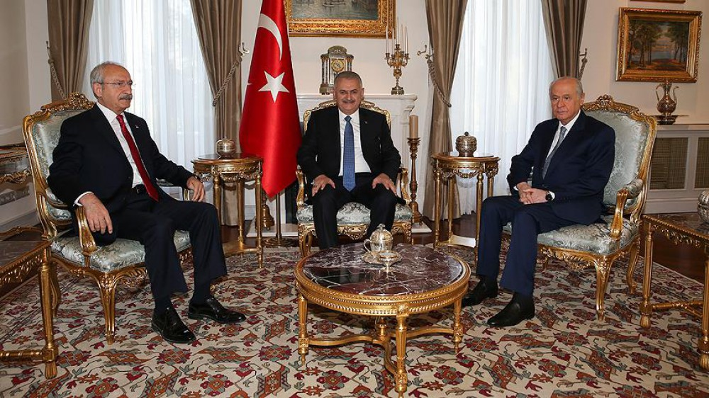 Turkish PM informs opposition leaders on anti-terror fight in a second meet after coup attempt