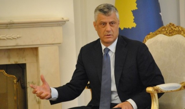 Kosovo doesn't lose a meter from the process of demarcation with Montenegro, President Thaci says