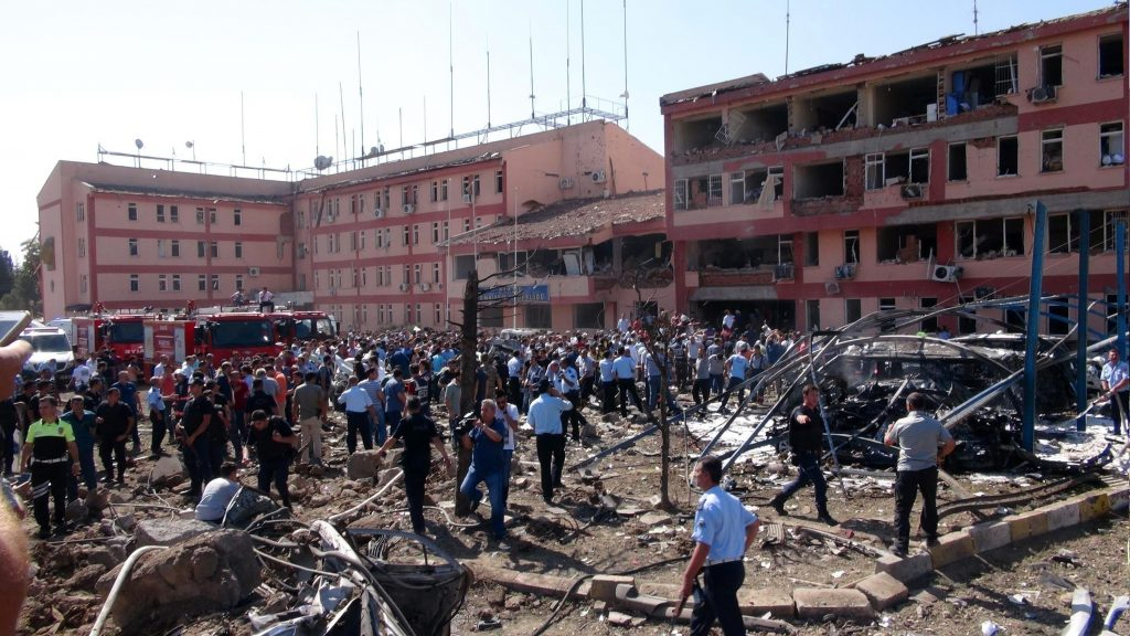 Three police officers killed, more than 200 wounded in bomb attack in Turkey's Elazığ